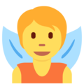 Fairy on Twitter Twemoji 13.0.1