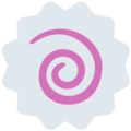 Fish Cake with Swirl on Twitter Twemoji 13.0.1