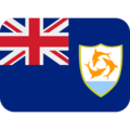 Flag: Anguilla on Twitter Twemoji 13.0.1