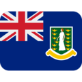Flag: British Virgin Islands on Twitter Twemoji 13.0.1