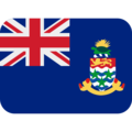 Flag: Cayman Islands on Twitter Twemoji 13.0.1