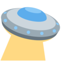 Flying Saucer on Twitter Twemoji 13.0.1