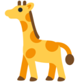 Giraffe on Twitter Twemoji 13.0.1