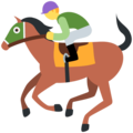 Horse Racing on Twitter Twemoji 13.0.1