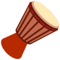 Long Drum on Twitter Twemoji 13.0.1