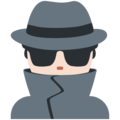 Man Detective: Light Skin Tone on Twitter Twemoji 13.0.1