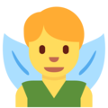 Man Fairy on Twitter Twemoji 13.0.1
