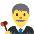 Man Judge on Twitter Twemoji 13.0.1