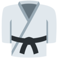 Martial Arts Uniform on Twitter Twemoji 13.0.1