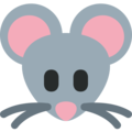Mouse Face on Twitter Twemoji 13.0.1