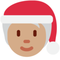 Mx Claus: Medium Skin Tone on Twitter Twemoji 13.0.1