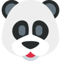 Panda on Twitter Twemoji 13.0.1