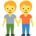 People Holding Hands on Twitter Twemoji 13.0.1