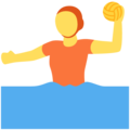 Person Playing Water Polo on Twitter Twemoji 13.0.1