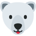 Polar Bear on Twitter Twemoji 13.0.1