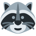 Raccoon on Twitter Twemoji 13.0.1