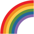 Rainbow on Twitter Twemoji 13.0.1