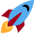 Rocket on Twitter Twemoji 13.0.1