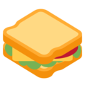 Sandwich on Twitter Twemoji 13.0.1