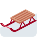 Sled on Twitter Twemoji 13.0.1