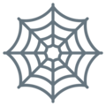 Spider Web on Twitter Twemoji 13.0.1
