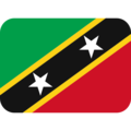 Flag: St. Kitts & Nevis on Twitter Twemoji 13.0.2