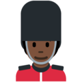 Guard: Dark Skin Tone on Twitter Twemoji 13.0.2