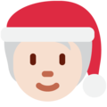 Mx Claus: Light Skin Tone on Twitter Twemoji 13.0.2