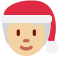Mx Claus: Medium-Light Skin Tone on Twitter Twemoji 13.0.2