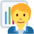 Office Worker on Twitter Twemoji 13.0.2