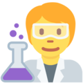 Scientist on Twitter Twemoji 13.0.2