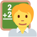 Teacher on Twitter Twemoji 13.0.2