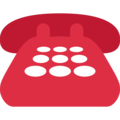 Telephone on Twitter Twemoji 13.0.2