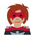 Woman Supervillain: Medium Skin Tone on Twitter Twemoji 13.0.2