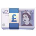 Pound Banknote on WhatsApp 2.19.244