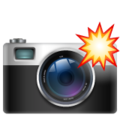 Camera With Flash on WhatsApp 2.19.244