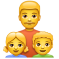 Family: Man, Girl, Boy on WhatsApp 2.19.244