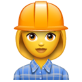 Woman Construction Worker on WhatsApp 2.19.244
