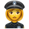 Woman Police Officer on WhatsApp 2.19.244