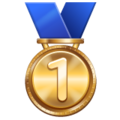 1st Place Medal on WhatsApp 2.19.244