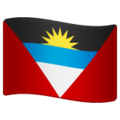 Flag: Antigua & Barbuda on WhatsApp 2.19.244
