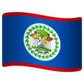 Flag: Belize on WhatsApp 2.19.244