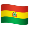 Flag: Bolivia on WhatsApp 2.19.244