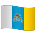 Flag: Canary Islands on WhatsApp 2.19.244