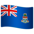 Flag: Cayman Islands on WhatsApp 2.19.244