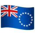 Flag: Cook Islands on WhatsApp 2.19.244