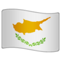 Flag: Cyprus on WhatsApp 2.19.244