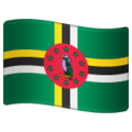 Flag: Dominica on WhatsApp 2.19.244
