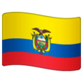 Flag: Ecuador on WhatsApp 2.19.244