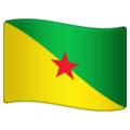 Flag: French Guiana on WhatsApp 2.19.244